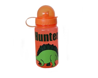 Personalized Water Bottle - Dinosaur