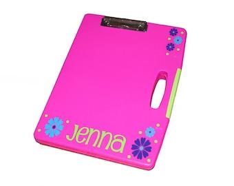 Personalized Clipboard Case - Flowers
