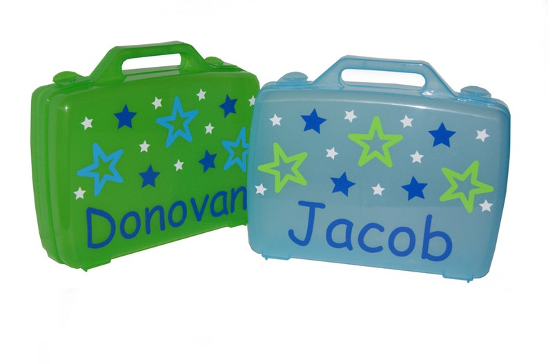 Personalized Carrying Case  Stars image 0