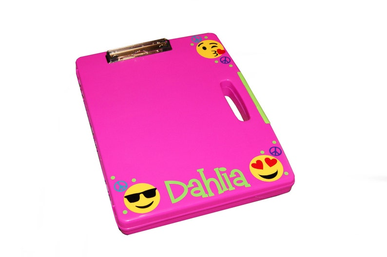 Personalized Clipboard Case  Emojis image 0