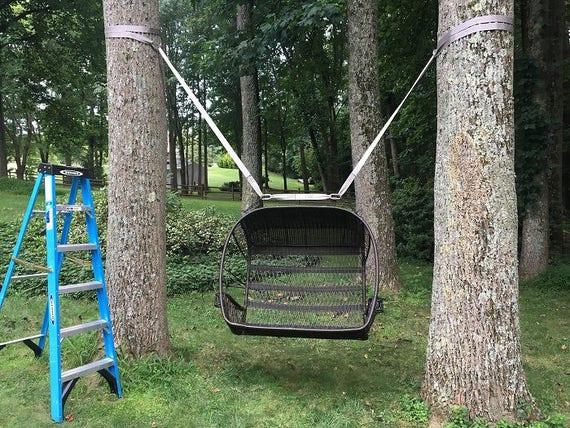 Swing Hanging Kit Hanging A Swings Between 2 Trees Tree Swing Hanging Kit Hanging Swing Kit Kit Between Trees Swing Between Trees