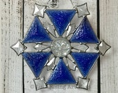 Jack Frost Stained Glass Starburst - FREE Shipping in USA