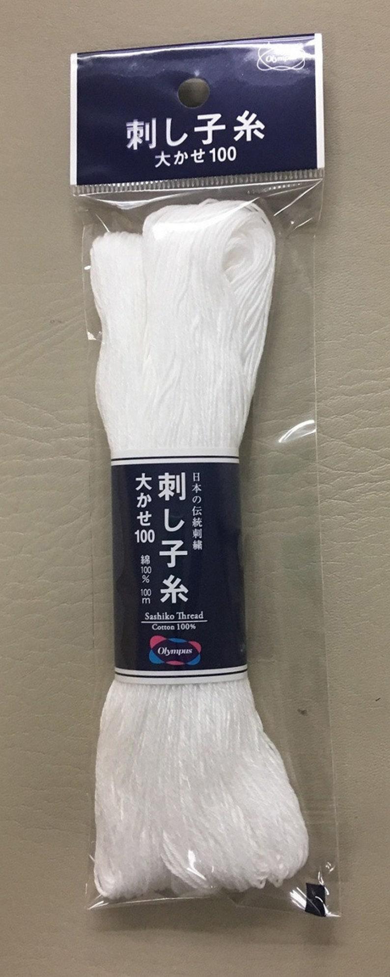 Sashiko thread white 111 yard skein ST-01-01
