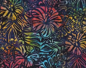 Hibiscus Artisan Batiks Totally Tropical AMD-14928-205 by Lunn Studios