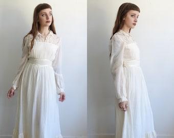Victorian wedding dress | Etsy