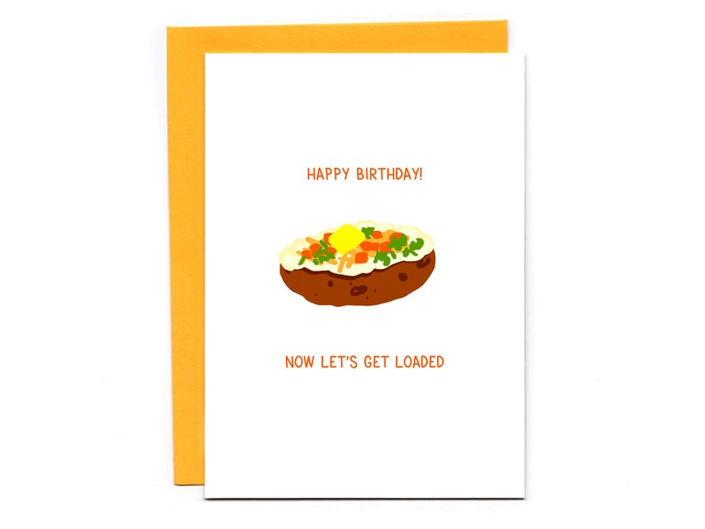 Let's Get Loaded  happy birthday card  funny birthday  image 0