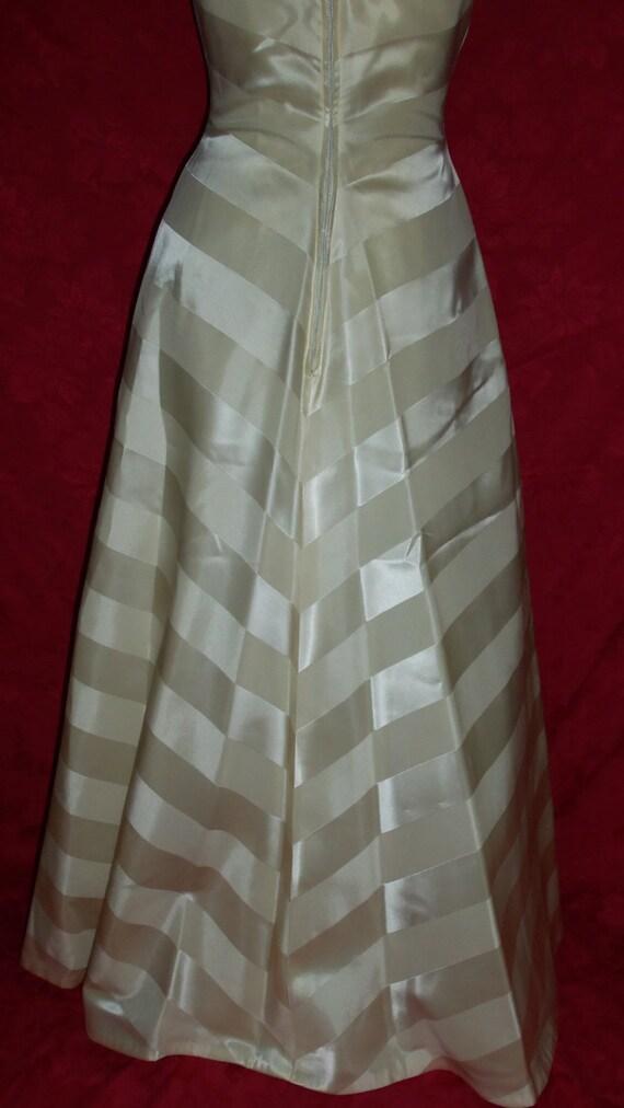 Vintage 50s Formal Gown Dress - image 3