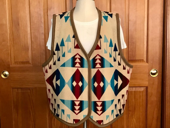 Reversible Blanket Vest XL Scarlett Big Thunder