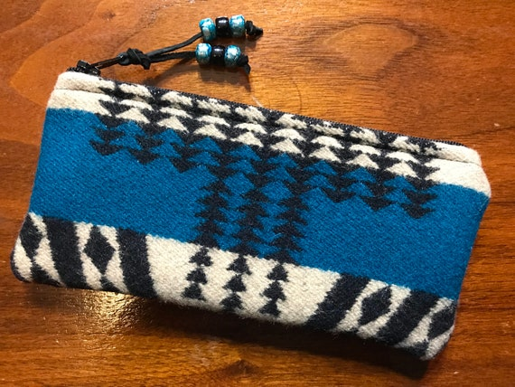 Wool Glasses  Case / Tampon Case / Zippered Pouch Mini Scorpio
