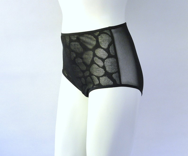 womens sheer camisole and panties made to order mesh lingerie set