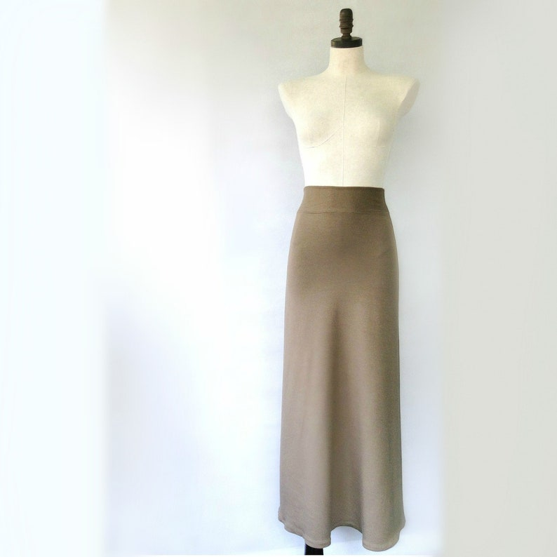 533b3d878 Long mermaid skirt merino wool or organic cotton maxi skirt | Etsy