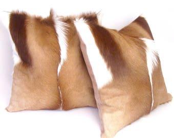 Springbok Fur Pillows