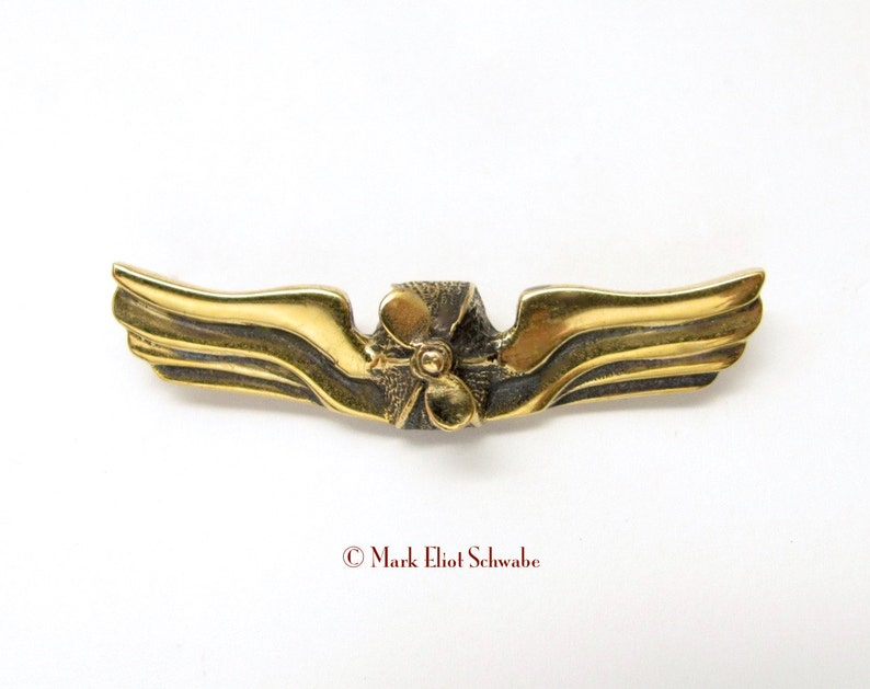 SteamPunk Airship Commanders Insignia interactive double tac image 0