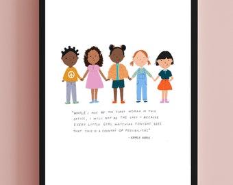 Kamala Harris Print - Digital File Only