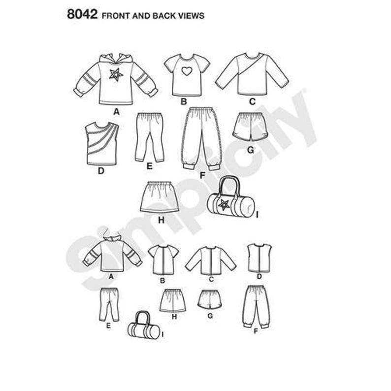 Officially Licenced American Girl Doll Clothes Pattern For