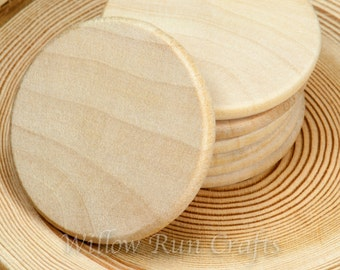 "400 Pack 1 1/2"" Wood Circle Disc  (23-20-170)"