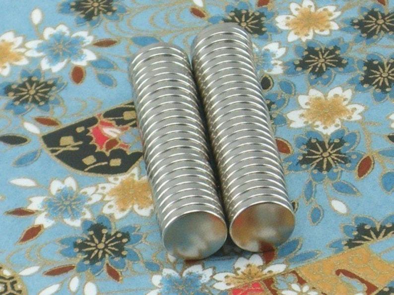 13-08-115 1000 Pack Neodymium Rare Earth Magnets  38 x 116