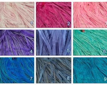 "100 Organza Ribbon Cord Necklaces, 18"" Length Organza, You pick your Colors"