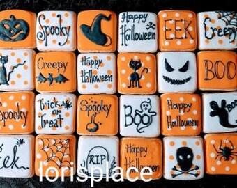 Halloween Cookies - Halloween Munchkin Cookies - 24 Cookies