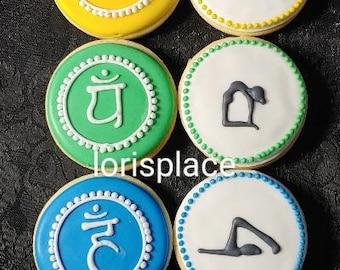 Chackra Cookies - Yoga Cookies - 14 Cookies