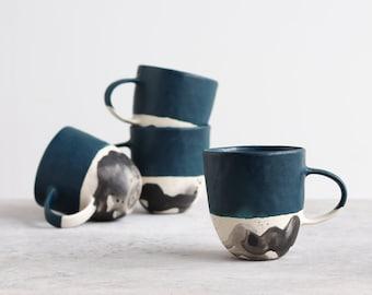 Splatter Mug - Deep Ocean