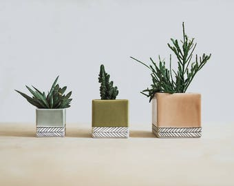 Small Square Planter - Made to Order