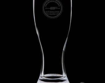 Pan American Airways 18 Ounce Personalized Pilsner Glass