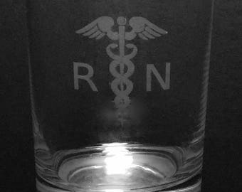 Nurse Rocks Glass