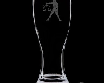 Libra Pilsner Glass.