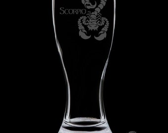 Scorpio 18 Ounce Pilsner Glass