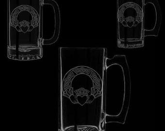 Claddagh Beer Mugs