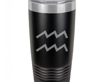 Aquarius 20 Ounce Black Polar Camel Tumbler