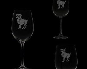 Aries Wine Glassware
