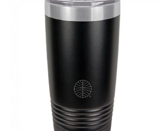 PanAm Logo 20 Ounce Black Polar Camel Tumbler (Also Available in Red, White, Gray, & Blue)