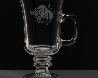 Taurus 8.5 Ounce Irish Coffee Mug