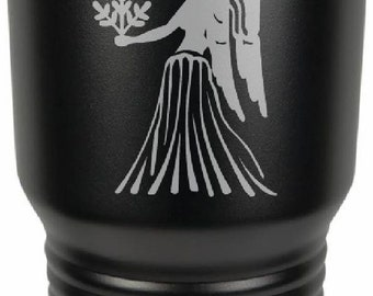 Virgo 30 Ounce Black Polar Camel Tumbler (Also Available in Red, White, Gray, & Blue)