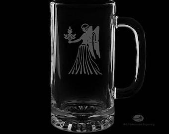 Virgo Beer Mug.