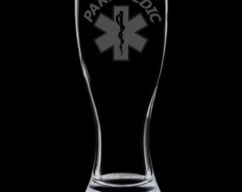 Paramedic 18 Ounce Pilsner Glass