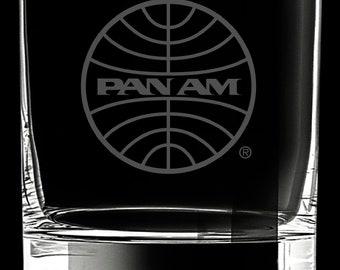 Pan Am Rocks Glass.