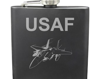 Air Force 6 Ounce Flask