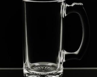 Blank 12 Ounce Beer Mug