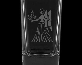 Virgo 2.75 Ounce Dessert Shot Glass (Also available in 2.0oz)