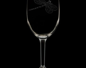 Dragonfly 12 Ounce Wine Glass (Available With Stem 12 Oz, And Stemless 12 & 15 Oz)