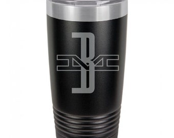 Boston And Maine 20 Ounce Black Polar Camel Tumbler (Also Available in Red, White, Gray, & Blue)