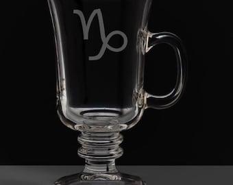 Capricorn 8.5 Ounce Irish Coffee Mug
