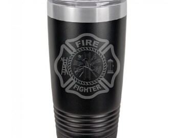 Fire Department Tumbler