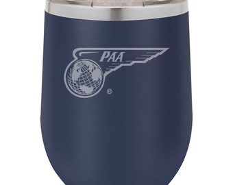 Pan American Airways Wine Tumbler.