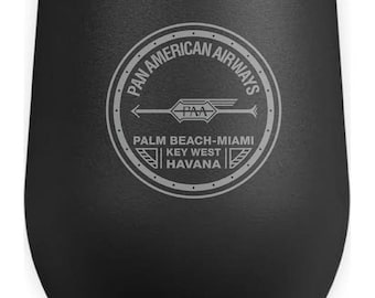 Pan American Airways Wine Tumbler.