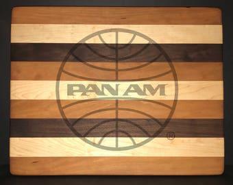 Pan American Airways 14 X 18 X 1 Bread/Cheese Board