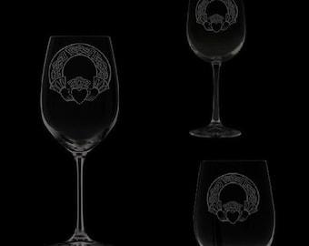Claddagh Wine Glassware